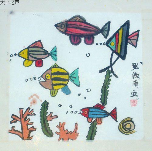 金鱼简笔画打印