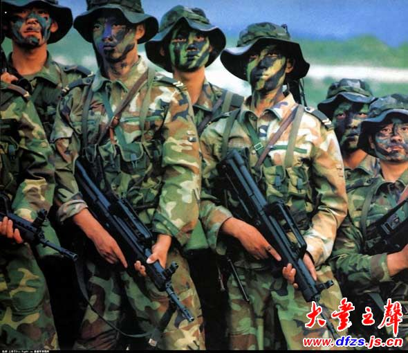 美军上校评估解放军特种部队战力 组图