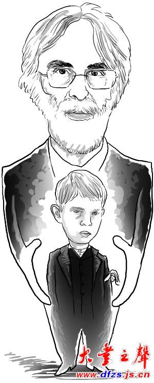 漫画 素描 头像
